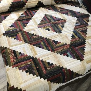 Log Cabin Quilt-King