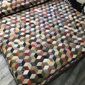 Tumbling Block Quilt-King